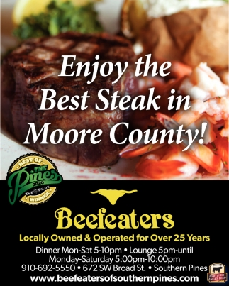 Locally Owned Amp Operated For Over 25 Years Beefeaters